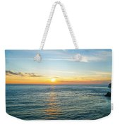 Pacific Ocean Sunset Weekender Tote Bag