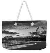 Pacific Park - Black And White Weekender Tote Bag