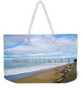 Pacifica Municipal Pier - California Weekender Tote Bag