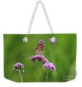 Painted Lady Butterfly Beauty Weekender Tote Bag