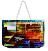 Painted Shadows Of A Different Love And Time Weekender Tote Bag