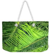 Palms In Light And Shadow Weekender Tote Bag