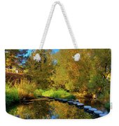 Palouse River Reflections Weekender Tote Bag