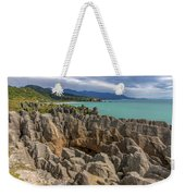Pancake Rocks - New Zealand Weekender Tote Bag