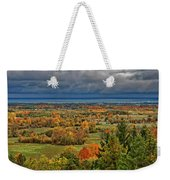 Panoramic Autumn View Weekender Tote Bag