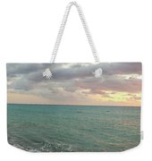 Panoramic View Of Aphrodite's Birthplace Or Petra Tou Romiou In Cyprus Weekender Tote Bag