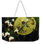 Parasol Among The Orchids Weekender Tote Bag
