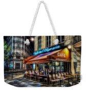 Paris Cafe Weekender Tote Bag