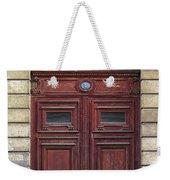 Paris Door Weekender Tote Bag