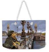 Paris-pont Alexandre Terzo Weekender Tote Bag