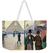 Paris Street In Rainy Weather - Digital Remastered Edition Weekender Tote Bag