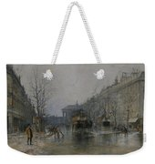 Paris Street Scene  Weekender Tote Bag