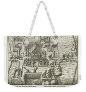 Parma Knighted In The Order Of The Golden Fleece, 1585, Anonymous, After Frans Hogenberg, 1613 - 161 Weekender Tote Bag