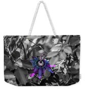 Passion Flower Only Weekender Tote Bag
