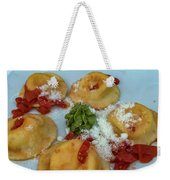Pasta Weekender Tote Bag