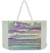 Pastel Night Weekender Tote Bag