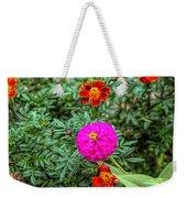 Pastel Wild Flowers Weekender Tote Bag