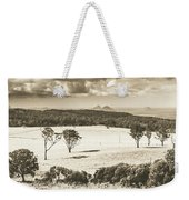 Pastoral Plains Weekender Tote Bag