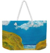 Path To The Ocean Weekender Tote Bag