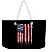 Patriotic Guitar Flag America Lovers Guitar Music Lovers Gifts Weekender Tote Bag