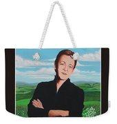 Paul Mccartney Weekender Tote Bag