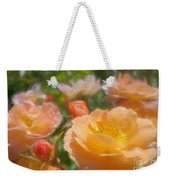 Peach Yellow Roses Weekender Tote Bag