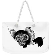Peeking Lemur - Ink Illustration Weekender Tote Bag
