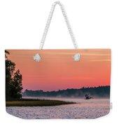 Pelican Mist Weekender Tote Bag by Patti Deters