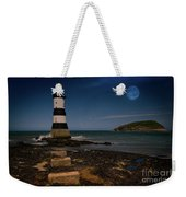 Penmon Lighthouse And Puffin Island Weekender Tote Bag
