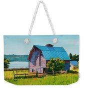 Penn Cove Barn Weekender Tote Bag