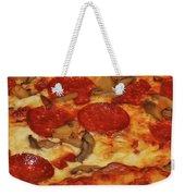 Pepperoni Pizza Mushrooms Weekender Tote Bag