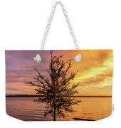 Percy Priest Lake Sunset Young Tree Weekender Tote Bag