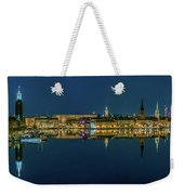 Perfect Stockholm And Gamla Stan Reflection From A Distant Bridge Weekender Tote Bag