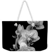 Phalaenopsis Orchids Black And White Weekender Tote Bag