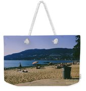 photograph of thid beach which is located in Stanley Park Vancouver. Third beach is a popular location for tourists and locals alike. Weekender Tote Bag