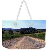 Photography Landscape Shot Of A Path Weekender Tote Bag