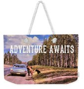 Pic-a-nic Baskets Quote Weekender Tote Bag by Jamart Photography