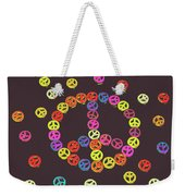 Pieces Of Peace Weekender Tote Bag