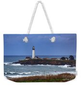 Pigeon Point Light Station In San Mateo County Ca Weekender Tote Bag