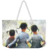 Pigtails Three Sisters Weekender Tote Bag