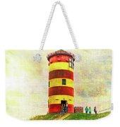 Pilsum Lighthouse Leuchtturm  Weekender Tote Bag