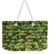 Pine Rows Aerial 2x1 Weekender Tote Bag
