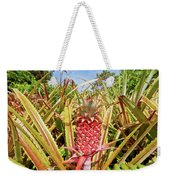 Pineapple Plant Ananas Pico Island Azores Portugal Weekender Tote Bag