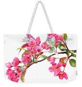 Pink Flowering Tree Blossoms Weekender Tote Bag