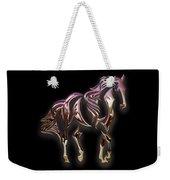 Purple Horse Weekender Tote Bag