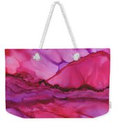 Pink Light Of Dawn Weekender Tote Bag