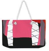 Pink Orange Weekender Tote Bag