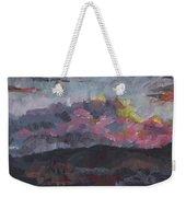 Pink Sky Delight Weekender Tote Bag