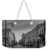 Piotrkowska Street Weekender Tote Bag