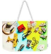 Play On Pop Art Weekender Tote Bag